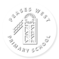 Peases West Primary School logo